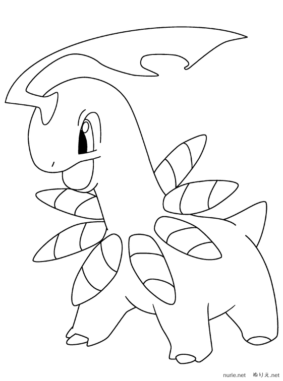 Kleurplaat Xl Pokemon Nurie 304 ぬりえ Nurie Net